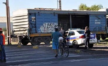 Falleció la mujer que fue arrollada por el tren