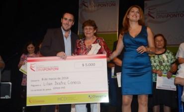 Dina Pontoni: una colaboradora de Villa Aurora fue la elegida