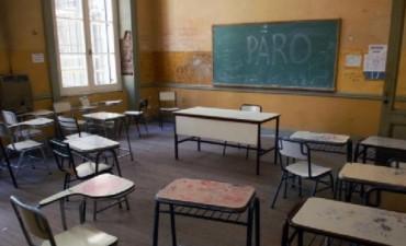 Elevado acatamiento al paro docente en Olavarría