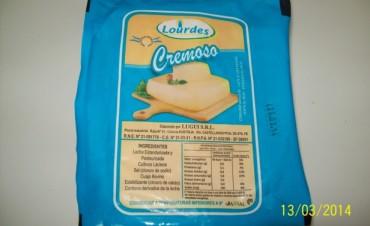 El Municipio comisó queso no apto para consumo