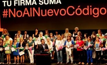 Liliana Schwindt  contra el anteproyecto de Código Penal y  Oyarbide