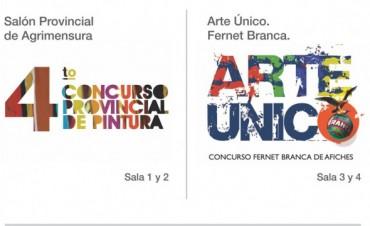 Visitas guiadas para las muestras de Arte Único y del Concurso Provincial de Pintura