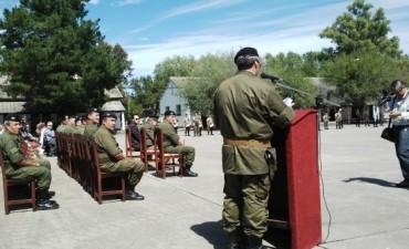 El regimiento local celebró sus 192 años