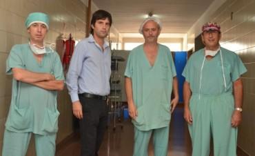 Cirugías de alta complejidad inéditas en el hospital