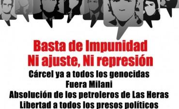 Día de la memoria: acto de las organizaciones de izquierda