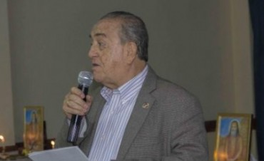 El Padre Gabriel Mejía Montoya estará en Olavarría