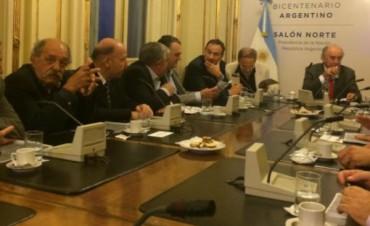La Madrid: reuniones del intendente con funcionarios nacionales