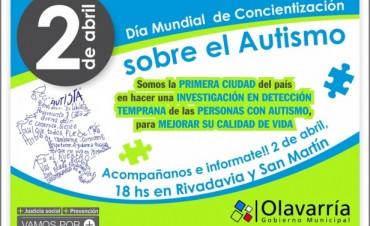 Anuncian jornada por el Día Mundial de Concientización sobre el Autismo