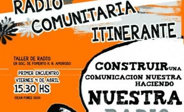 """Voluntariado """"Radio Comunitaria Itinerante"""""""