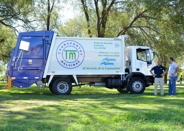 Moderna unidad para la recolección de residuos