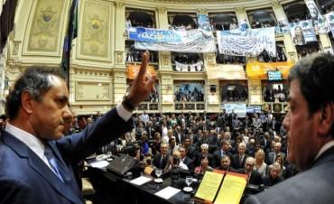 Scioli abre el período ordinario de sesiones legislativas