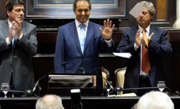 Scioli inaugura hoy el período de sesiones ordinarias en la Legislatura