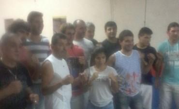 El Boxeo de festejo en el Gimnasio de Tito Videla