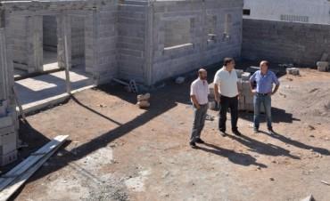 Continúan las obras del Servicio Territorial Municipal  de Villa Mailin