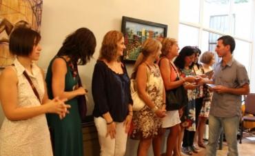 Inauguraron muestra de premiadas en 'La Higuera'