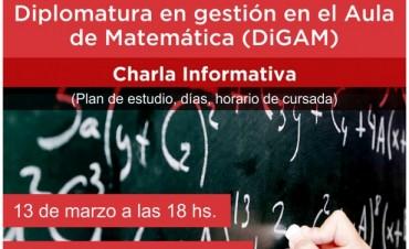 Diplomatura en gestión en el Aula de Matemática