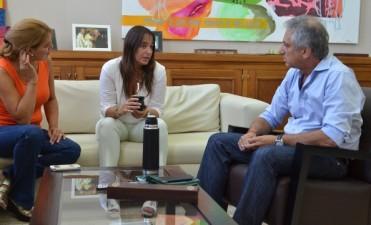 La vecinalista Gabriela Eyras se reunió con José Eseverri