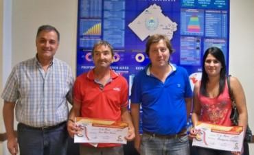 El CECO premió con un sueldo adicional a dos nuevos afiliados