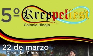Colonia Hinojo se prepara para la 5° Kreppelfest