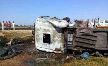 Falleció chofer Olavarriense en un choque en la ruta 6