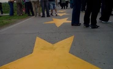 Nueva pintada de Estrellas Amarillas