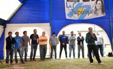 Plenario político de La Cámpora en Tapalqué