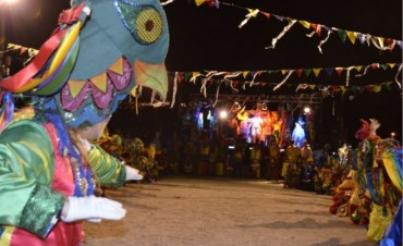 Más de 300 personas en el Carnaval en barrio Cuarteles