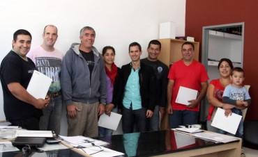 González Hueso firmó convenios para ampliar financiamientos en Sierras Bayas