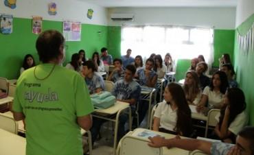 Talleres de prevención y promoción de la salud en establecimientos educativos