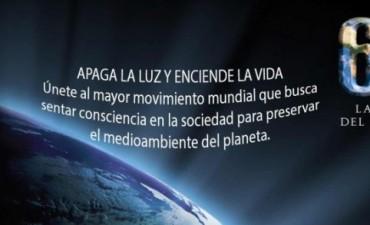 La Hora del Planeta: adhesión en edificios municipales