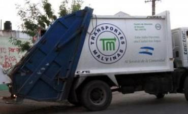 Informan el cronograma de recolección de residuos