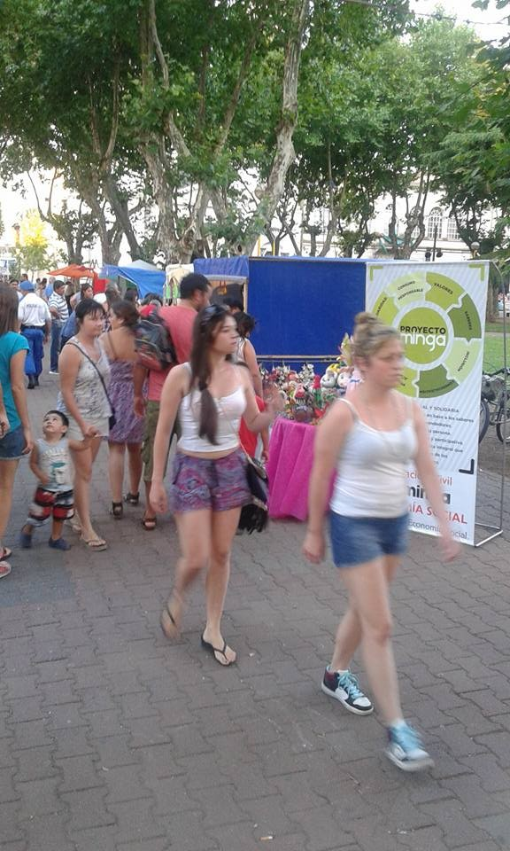 Preocupación de La Minga por el uso de la plaza