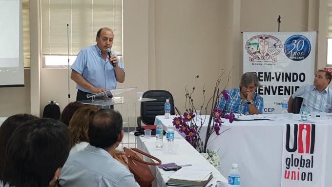 Miguel Santellán fue elegido director del observatorio permanente de trabajo decente del Mercosur