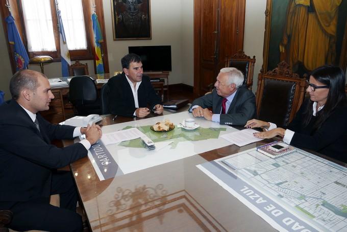 Azul: se firmó un convenio entre el Municipio y la UNICEN por la Policía Local