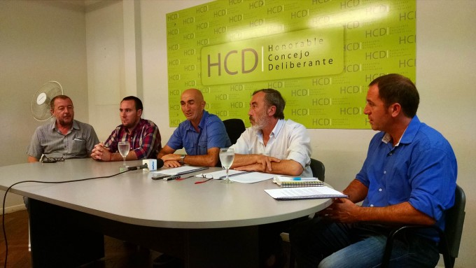 Presentaron el proyecto sobre emergencias viales en el Concejo Deliberante