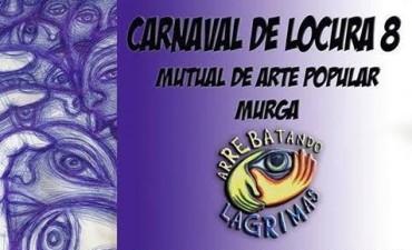 Este sábado Arrebatando Lágrimas realiza su Carnaval