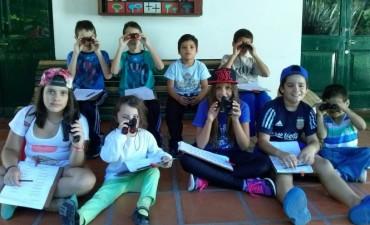 Se realizó el taller de observación de aves en libertad