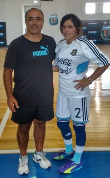 El FUTSAL de AFA reclutò a Rocìo Sosa para los Juegos Olìmpicos de la JUVENTUD Bs. As. 2018