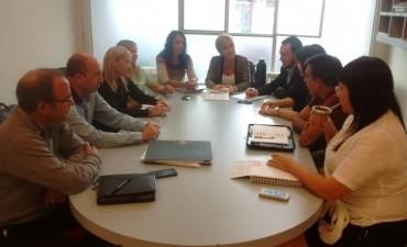 Infraestructura, comedores y Fondo de Educación fueron temas abordados por concejales y consejeros de Olavarría para la Victoria