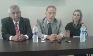 Anunciaron actividades por el centenario del Departamento Judicial Azul