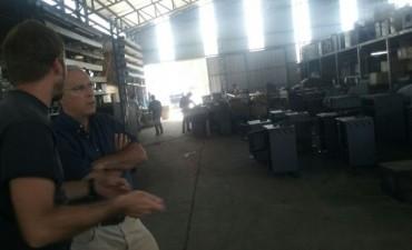 Funcionarios municipales visitaron el Parque Industrial y dialogaron con autoridades de empresas radicadas en el lugar