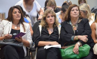 "Lordén disertó en la jornada ""Agenda de Género"""