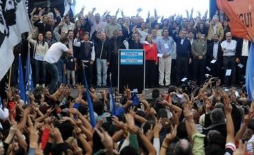El Frente para la Victoria tuvo su encuentro en Avellaneda