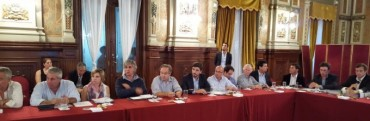 Galli se reunió con funcionarios provinciales por obras de infraestructura
