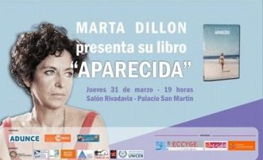 Marta Dillon presenta su libro Aparecida en Olavarría