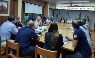 Se realizó una nueva reunión del Consejo de Seguridad Municipal