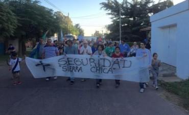 Vecinos de Sierra Chica reclamaron seguridad