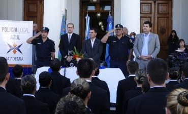 Azul: comenzó el ciclo lectivo del Instituto de Formación para la Policía Local