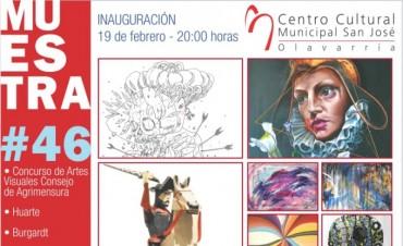 """Finaliza la muestra de arte en el Centro Cultural Municipal """"San José"""""""