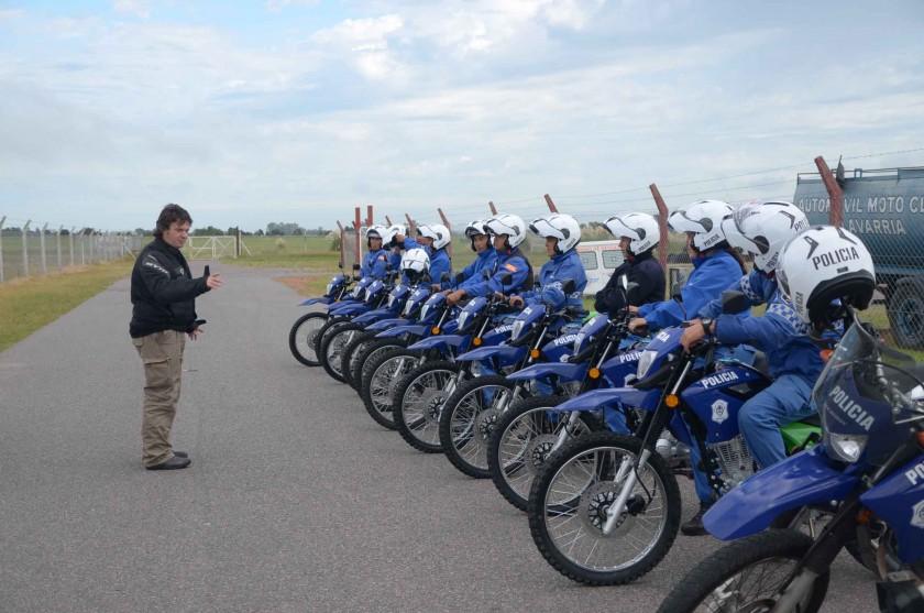 Policía Local: capacitación sobre seguridad vial en motos